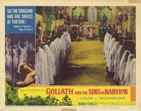 Goliath and the Sins of Babylon - 11 x 14 Movie Poster - Style C