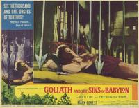 Goliath and the Sins of Babylon - 11 x 14 Movie Poster - Style G