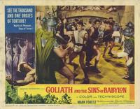 Goliath and the Sins of Babylon - 11 x 14 Movie Poster - Style H
