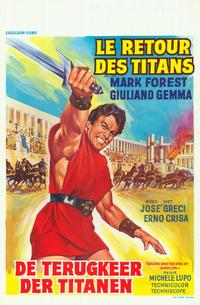 Goliath and the Sins of Babylon - 27 x 40 Movie Poster - Belgian Style A