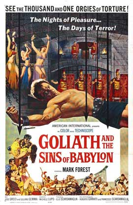 Goliath and the Sins of Babylon - 27 x 40 Movie Poster - Style A