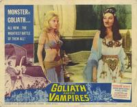 Goliath and the Vampires - 11 x 14 Movie Poster - Style A