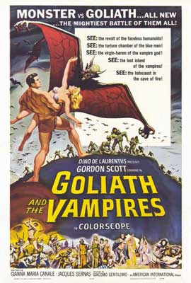 Goliath and the Vampires - 27 x 40 Movie Poster - Style A