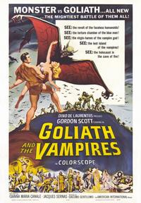 Goliath and the Vampires - 43 x 62 Movie Poster - Bus Shelter Style A