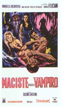 Goliath and the Vampires - 11 x 17 Movie Poster - Italian Style A