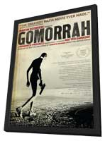 Gomorra - 11 x 17 Movie Poster - Style A - in Deluxe Wood Frame