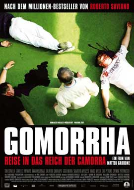 Gomorra - 27 x 40 Movie Poster - German Style A