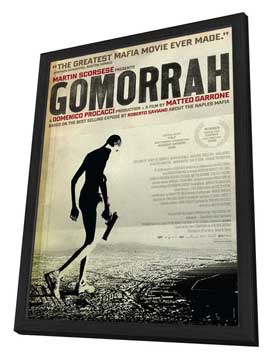 Gomorra - 27 x 40 Movie Poster - Style A - in Deluxe Wood Frame