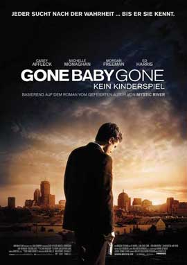 Gone Baby Gone - 11 x 17 Movie Poster - German Style A