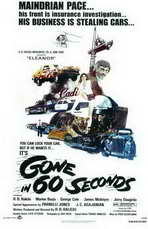 Gone in 60 Seconds - 11 x 17 Movie Poster - Style A
