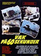 Gone in 60 Seconds - 11 x 17 Movie Poster - Danish Style A