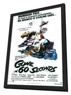 Gone in 60 Seconds - 11 x 17 Movie Poster - Style A - in Deluxe Wood Frame