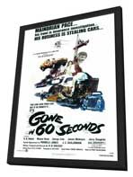 Gone in 60 Seconds - 27 x 40 Movie Poster - Style A - in Deluxe Wood Frame