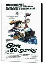 Gone in 60 Seconds - 11 x 17 Movie Poster - Style A - Museum Wrapped Canvas
