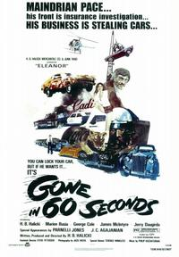 Gone in 60 Seconds - 43 x 62 Movie Poster - Bus Shelter Style A
