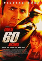 Gone in 60 Seconds - 27 x 40 Movie Poster - Style B