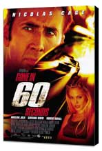 Gone in 60 Seconds - 27 x 40 Movie Poster - Style A - Museum Wrapped Canvas