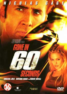 Gone in 60 Seconds - 27 x 40 Movie Poster - Danish Style A