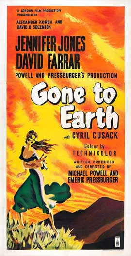 Gone to Earth - 27 x 40 Movie Poster - Style D