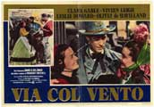Gone with the Wind - 11 x 17 Movie Poster - Italian Style A