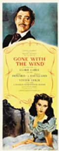 Gone with the Wind - 14 x 36 Movie Poster - Insert Style A