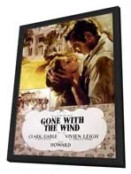 Gone with the Wind - 11 x 17 Poster - Style AI - in Deluxe Wood Frame