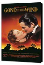 Gone with the Wind - 11 x 17 Poster - Style AG - Museum Wrapped Canvas