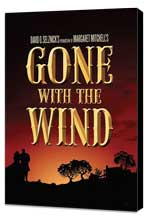 Gone with the Wind - 27 x 40 Movie Poster - Style O - Museum Wrapped Canvas
