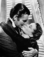 Gone with the Wind - Gone With The Wind Kissing Scene