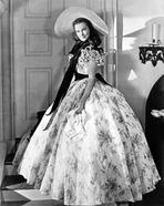 Gone with the Wind - Gone With The Wind Scarlett O'Hara Side View Posed