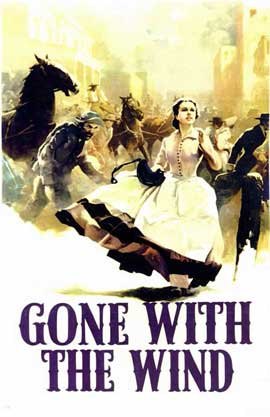 Gone with the Wind - 11 x 17 Movie Poster - Style A