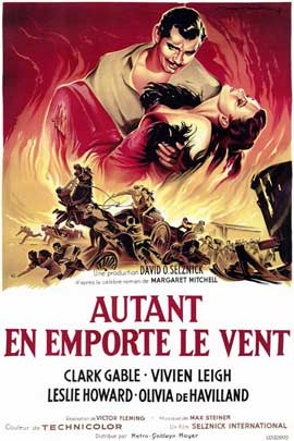 Gone with the Wind - 11 x 17 Poster - Foreign - Style A