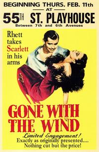 Gone with the Wind - 11 x 17 Movie Poster - Style C