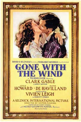 Gone with the Wind - 11 x 17 Movie Poster - Style D
