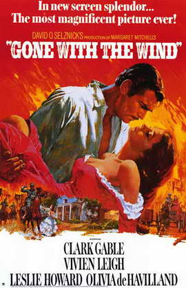 Gone with the Wind - 11 x 17 Movie Poster - Style I