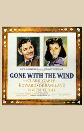 Gone with the Wind - 11 x 17 Movie Poster - Style R