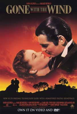 Gone with the Wind - 11 x 17 Movie Poster - Style M