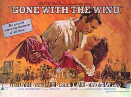 Gone with the Wind - 11 x 17 Movie Poster - Style O