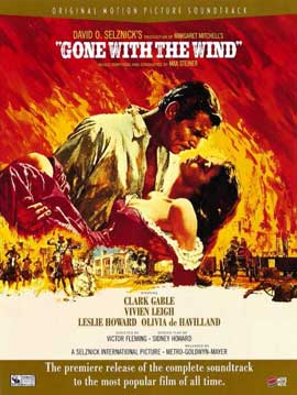 Gone with the Wind - 11 x 17 Movie Poster - Style L