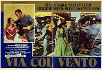 Gone with the Wind - 11 x 17 Movie Poster - Italian Style B