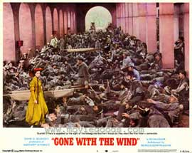 Gone with the Wind - 11 x 14 Movie Poster - Style N