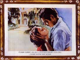 Gone with the Wind - 11 x 14 Movie Poster - Style V