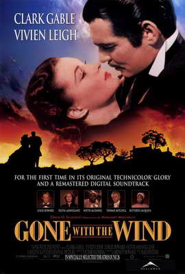 Gone with the Wind - 27 x 40 Movie Poster - Style A