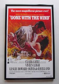 Gone with the Wind - 11 x 17 Poster + Aluminum Frame