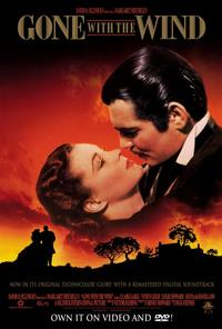 Gone with the Wind - 27 x 40 Movie Poster - Style D