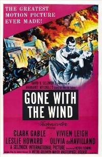 Gone with the Wind - 43 x 62 Movie Poster - Bus Shelter Style B