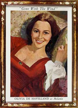Gone with the Wind - 11 x 17 Movie Poster - Style AA