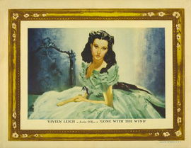 Gone with the Wind - 27 x 40 Movie Poster - Style K