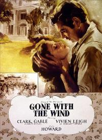 Gone with the Wind - 27 x 40 Movie Poster - Style P