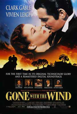 Gone with the Wind - 27 x 40 Movie Poster - Style S